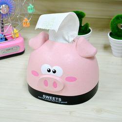 돼지 티슈 케이스