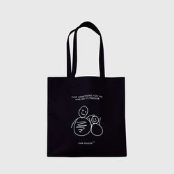 MarketBag Snowman-Black