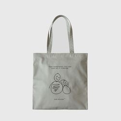 MarketBag Snowman-FogGray
