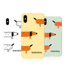 [Try]길쭉멍멍 3D하드 케이스.아이폰5S(SE)