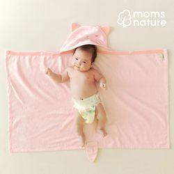 대나무 후드 아기목욕가운