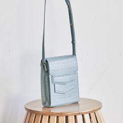 Croc mini sugar bag (blue)