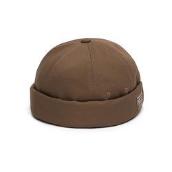 MOLD CAP  TWILL COTTON  D BROWN