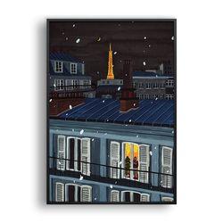 눈 오는 밤 Paris 1