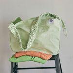 Shirring Hobo bag (melon)