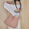 Shirring Hobo bag (pink)