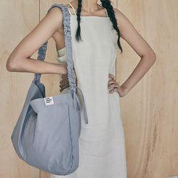 Shirring Hobo bag (blue)