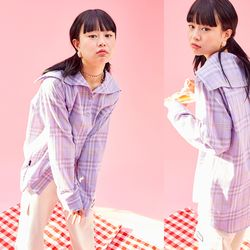 19SP Sailor Shirt (PURPLE)