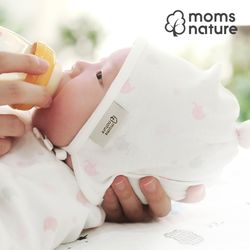 오가닉 신생아모자  아기보넷