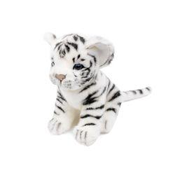 7287-아기백호랑이 동물인형 17cm.L