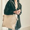 Rope shouler eco bag (ivory)