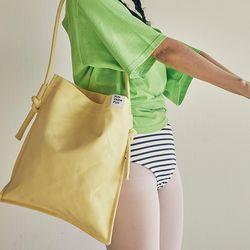 Rope shoulder eco bag (yellow)