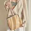 Amelie frame big bag (beige)