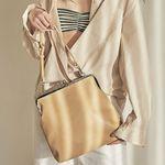 Amelie frame big bag (beige)