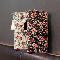 갤럭시노트9 (N960) Flores-T 지퍼 지갑 다이어리 케이스