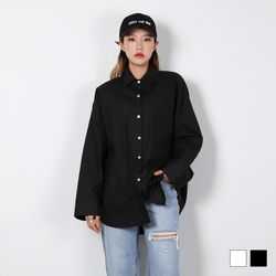 2427 탄탄 코튼 셔츠 (2colors)