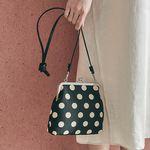 Amelie frame bag (dot black)