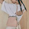 Amelie frame bag (pink)