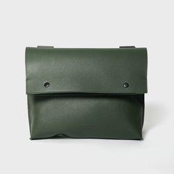 105 Vertical Crossbag Khaki