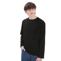 포윗 롱슬리브 티셔츠(블랙)
