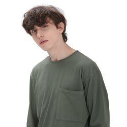포윗 롱슬리브 티셔츠(카키)