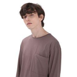 포윗 롱슬리브 티셔츠(코코아)