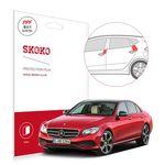 벤츠 E400 클로즈 도어가드 자동차 PPF 보호필름