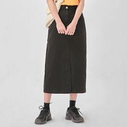 mine H-line cotton skirt (s m)