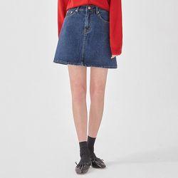 just denim mini skirt (s m l)
