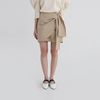 lap detail cotton mini skirt (2colors)