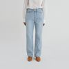 pick up light loose straight jeans
