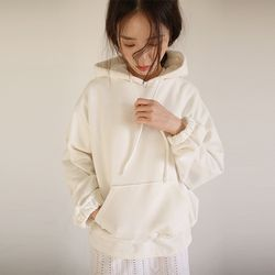 banding cuffs hoodie (3colors)