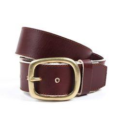 106 original heavy belt - brown