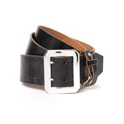 5 40s strongman belt - silver