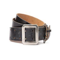 6 40s strongman belt - gray