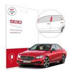 스코코 벤츠 E300 도어필러세트 자동차 PPF 보호필름