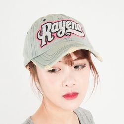 A0104 RAYENA 자수 데님캡