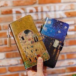 갤럭시A9프로 (G887) Encanto-Obra-T 지퍼 지갑 다이어리 케이스