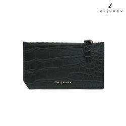 [리쥬네브]세컨와니 카드지갑 L1811 블랙