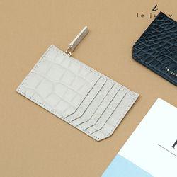 [리쥬네브]세컨와니 카드지갑 L1811 아이보리