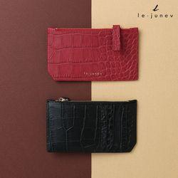[리쥬네브]세컨와니 카드지갑 L1811 레드