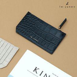 [리쥬네브]세컨와니 카드지갑 L1811 네이비
