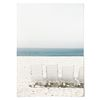 중형 패브릭 포스터 F174 바다 파도 풍경 액자 릴렉스 no.2