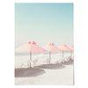 중형 패브릭 포스터 F175 바다 파도 풍경 천 액자 릴렉스 no.3