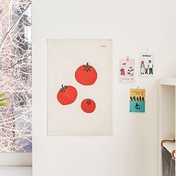과일 일러스트 패브릭 포스터.가리개커튼 (M 사이즈)