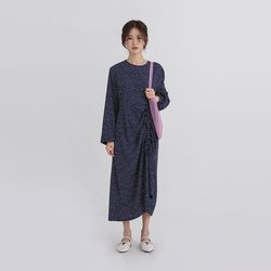 string dot long one-piece (2colors)