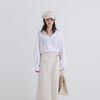 breeze open collar blouse (2colors)