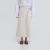 may two button cotton long skirt (2colors)