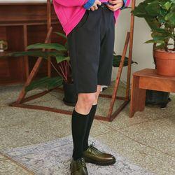 half banding pants (2 color) - UNISEX