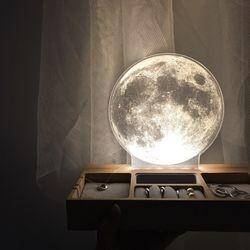 보름달 무드등 악세사리 트레이